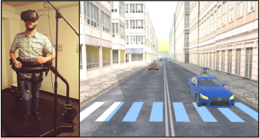 Figure 2 for Analysis and Prediction of Pedestrian Crosswalk Behavior during Automated Vehicle Interactions