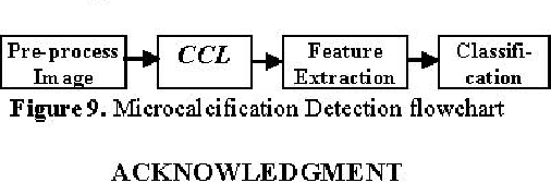 Figure 9. Microcalcification Detection flowchart