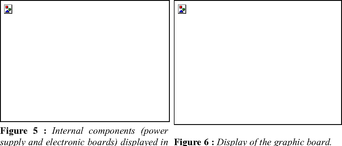 Figure 5 : Internal components (power supply and electronic boards) displayed in a blended mode.