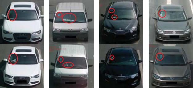 Figure 1 for RAM: A Region-Aware Deep Model for Vehicle Re-Identification