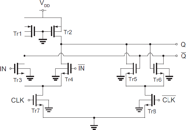Figure 2 From Inductorless 8 9 Mw 25 Gb S 1 4 Demux And 4 Mw 13 Gb S 4 1 Mux In 90 Nm Cmos Semantic Scholar
