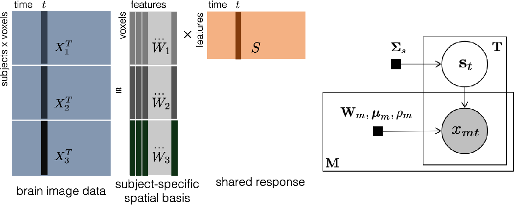 Figure 2 for Incorporating structured assumptions with probabilistic graphical models in fMRI data analysis