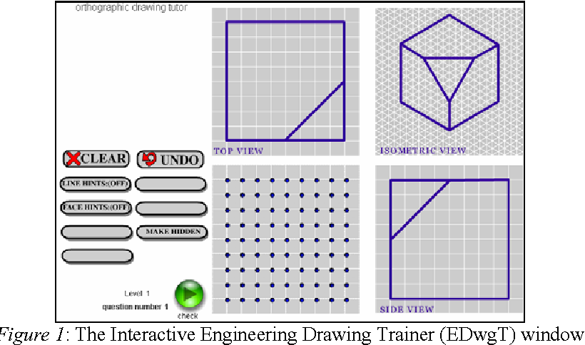 On Improving Spatial Ability Through Computer Mediated Engineering