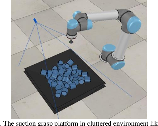 Figure 1 for Suction Grasp Region Prediction using Self-supervised Learning for Object Picking in Dense Clutter