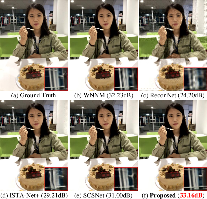 Figure 1 for The Power of Triply Complementary Priors for Image Compressive Sensing