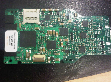 Identification of UWB emissions from printed circuit boards