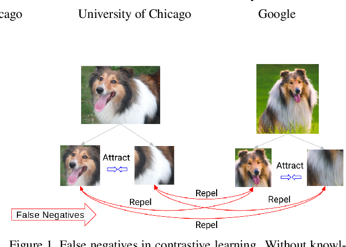 Figure 1 for Boosting Contrastive Self-Supervised Learning with False Negative Cancellation