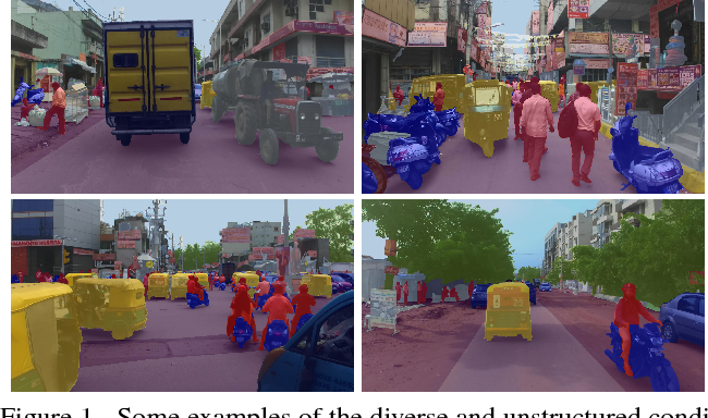 Figure 1 for IDD: A Dataset for Exploring Problems of Autonomous Navigation in Unconstrained Environments