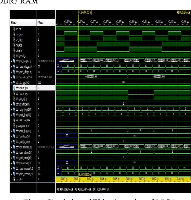 Figure 11 from Interfacing of flash memory and DDR3 RAM memory with
