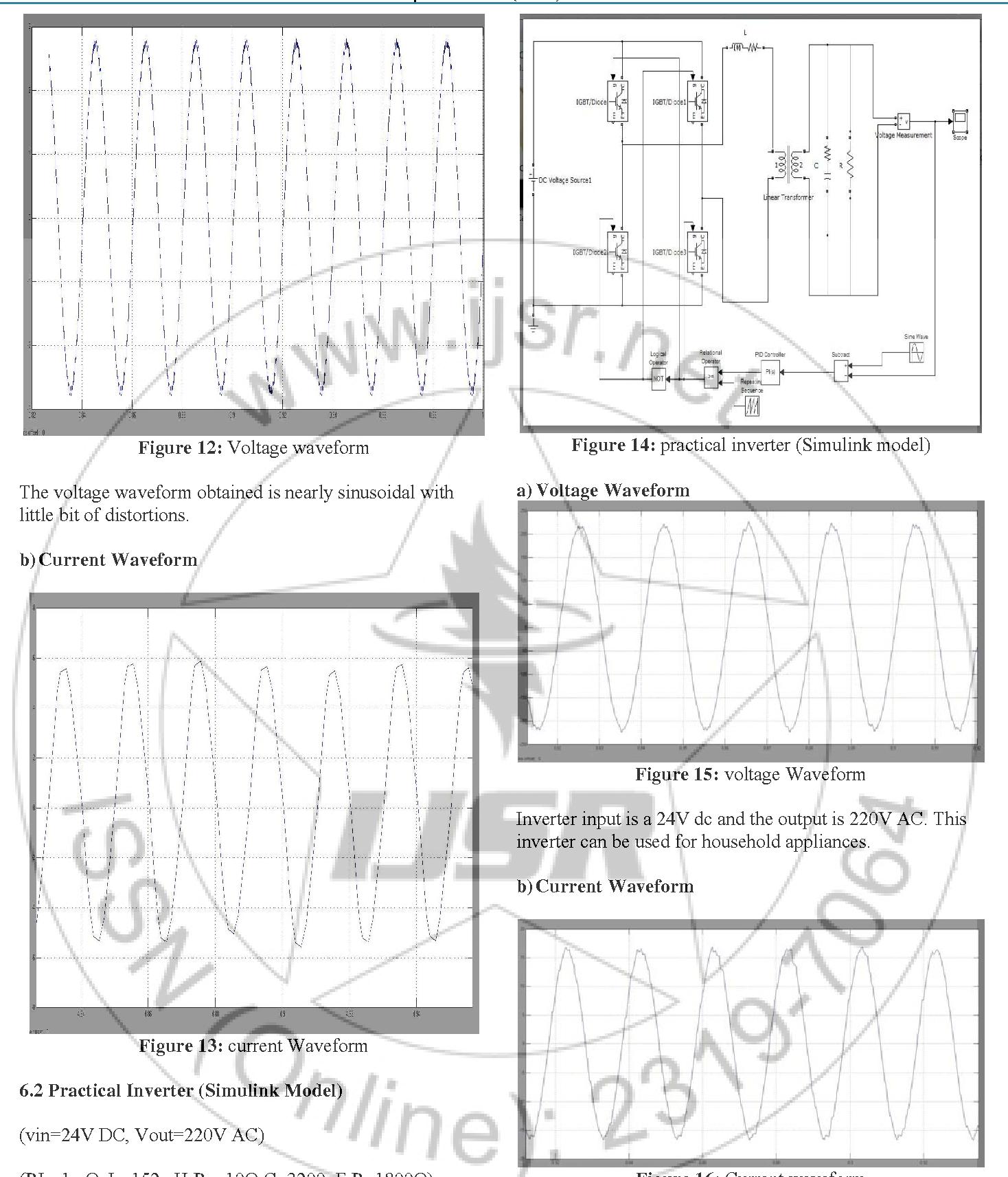 PDF] Analysis of Single-Phase SPWM Inverter - Semantic Scholar