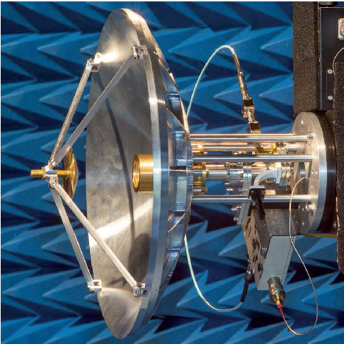 Figure 1 from Compact Ka-band Cassegrain antenna with multimode