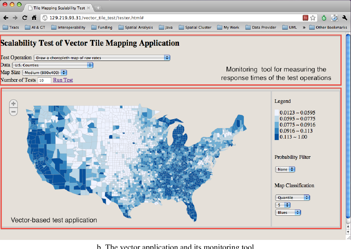 PDF] Tile-based Methods for Online Choropleth Mapping: A Scalability on