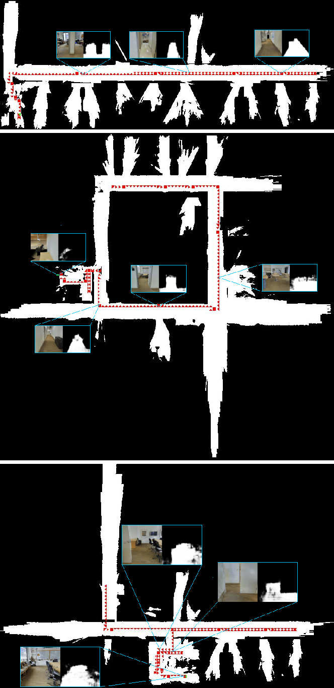 Figure 4 for Learning Autonomous Exploration and Mapping with Semantic Vision