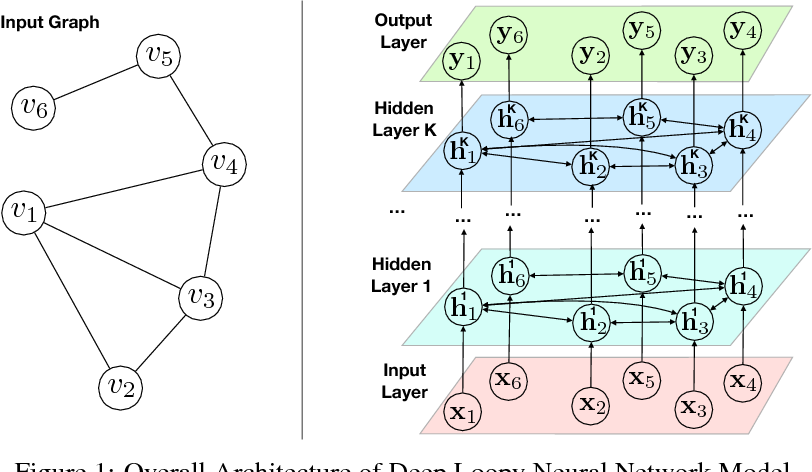 Figure 1 for Deep Loopy Neural Network Model for Graph Structured Data Representation Learning