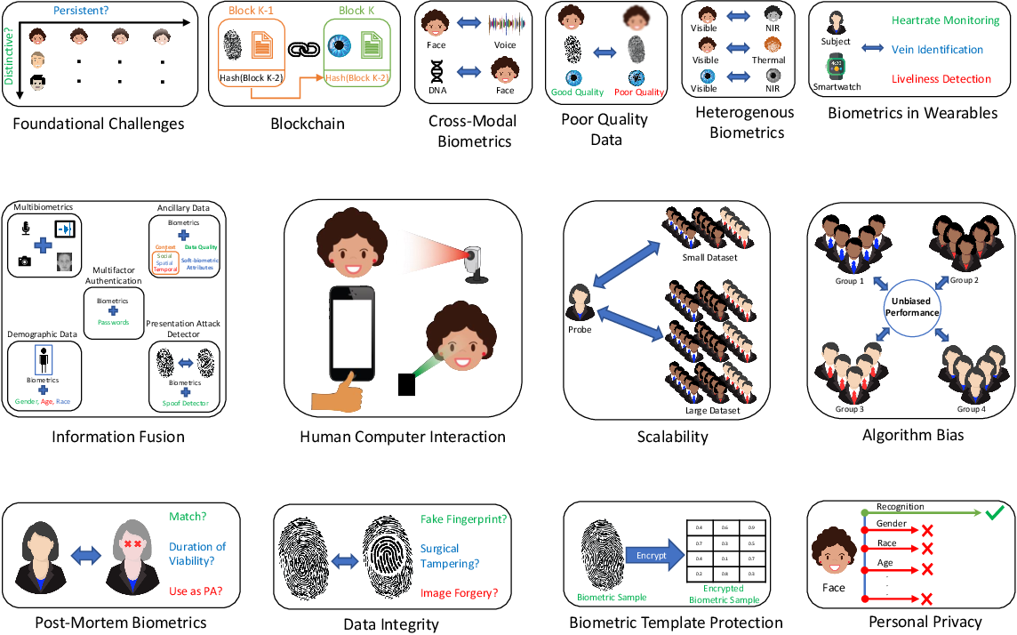 Figure 1 for Some Research Problems in Biometrics: The Future Beckons