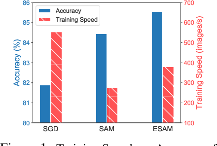 Figure 1 for Efficient Sharpness-aware Minimization for Improved Training of Neural Networks