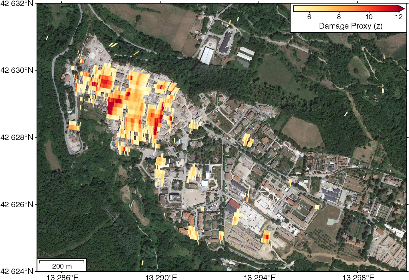 Figure 3 for Deep Learning-based Damage Mapping with InSAR Coherence Time Series