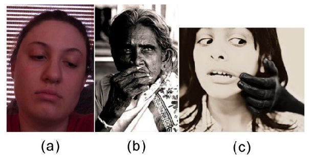 Figure 3 for RAF-AU Database: In-the-Wild Facial Expressions with Subjective Emotion Judgement and Objective AU Annotations