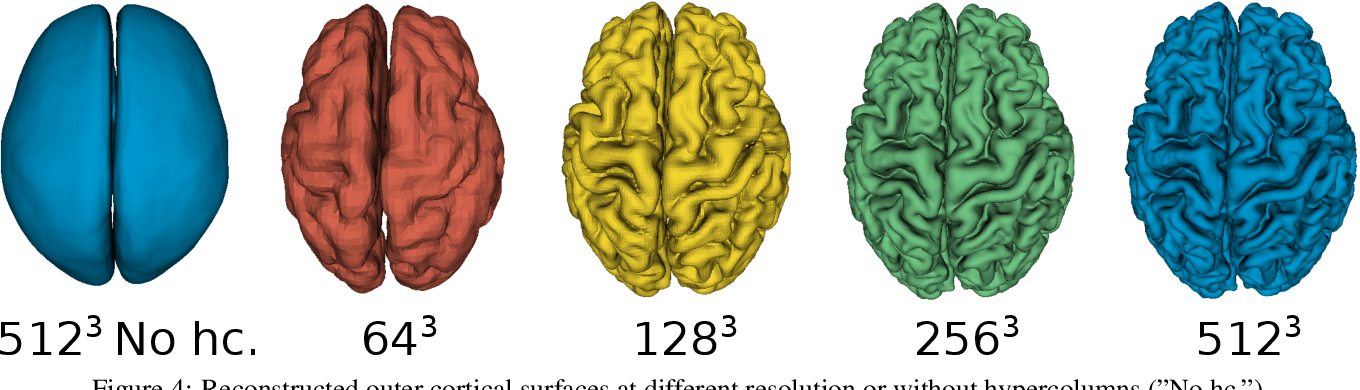 Figure 4 for DeepCSR: A 3D Deep Learning Approach for Cortical Surface Reconstruction