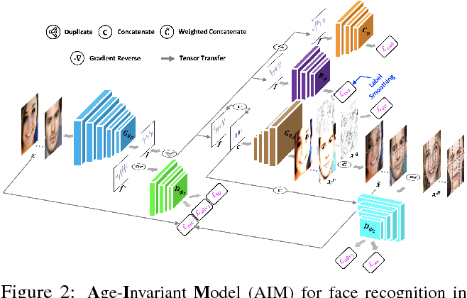 Figure 3 for Look Across Elapse: Disentangled Representation Learning and Photorealistic Cross-Age Face Synthesis for Age-Invariant Face Recognition
