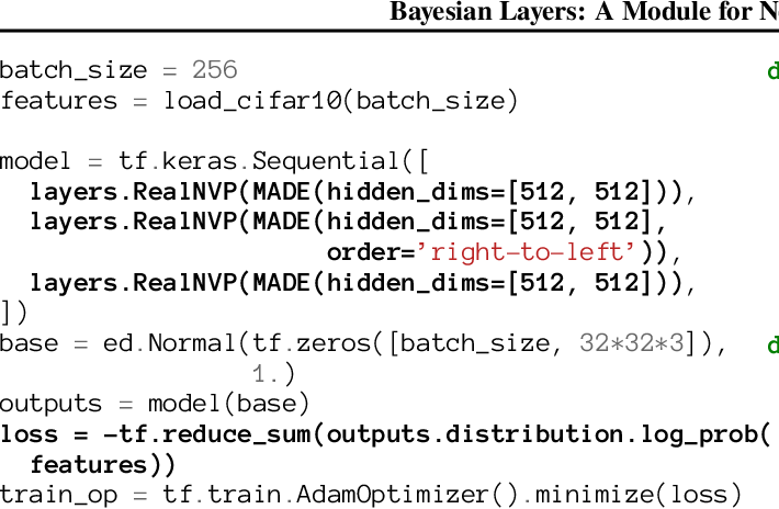 Figure 2 for Bayesian Layers: A Module for Neural Network Uncertainty