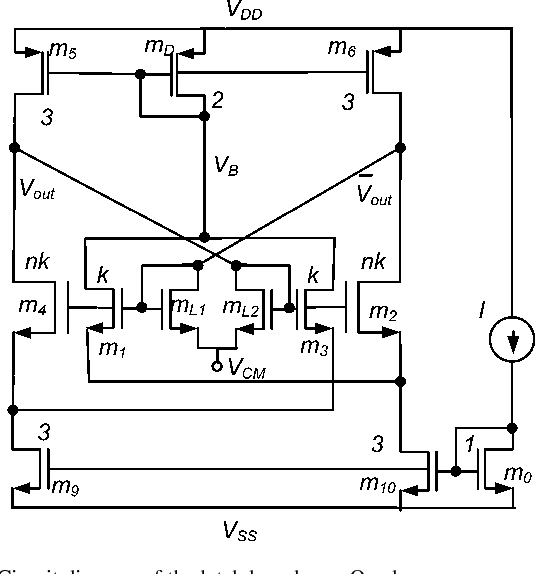 circuit diagram of the latch based on a quad