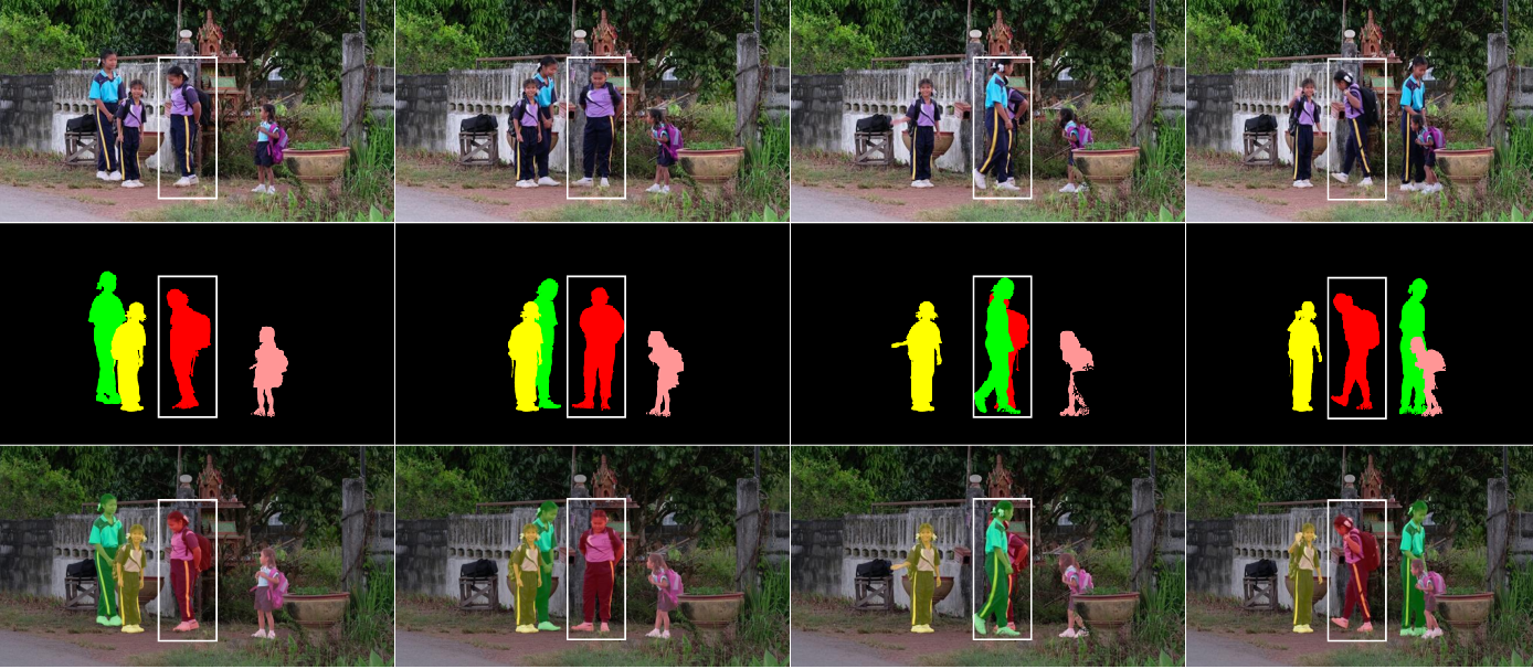 Figure 1 for Real-time Human-Centric Segmentation for Complex Video Scenes