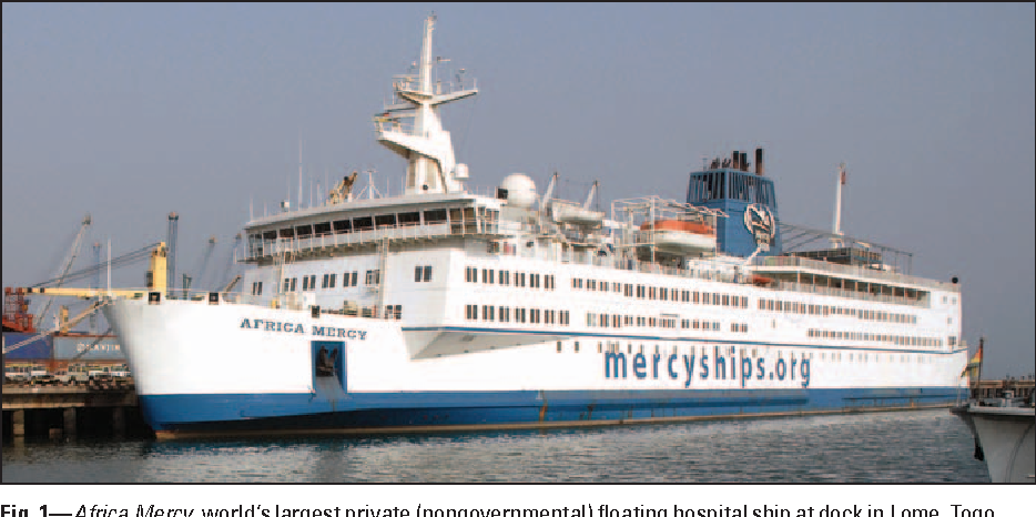 Radiology on the Africa Mercy, the largest private floating hospital
