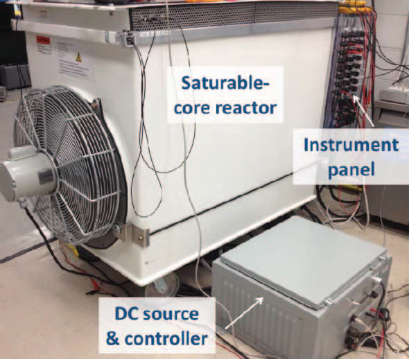 Applications of saturable-core reactors (SCR) in power