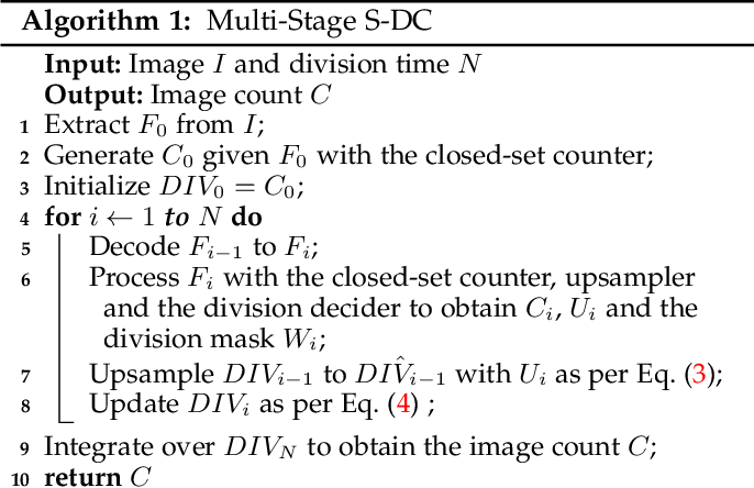 Figure 2 for From Open Set to Closed Set: Supervised Spatial Divide-and-Conquer for Object Counting