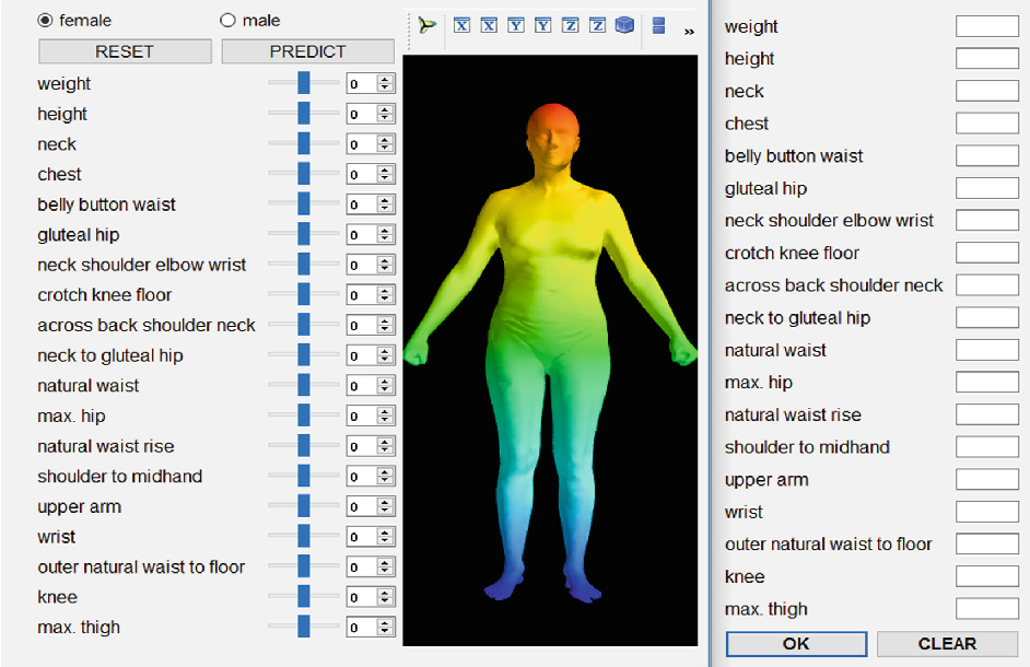 Figure 1 for 3D Human Body Reshaping with Anthropometric Modeling