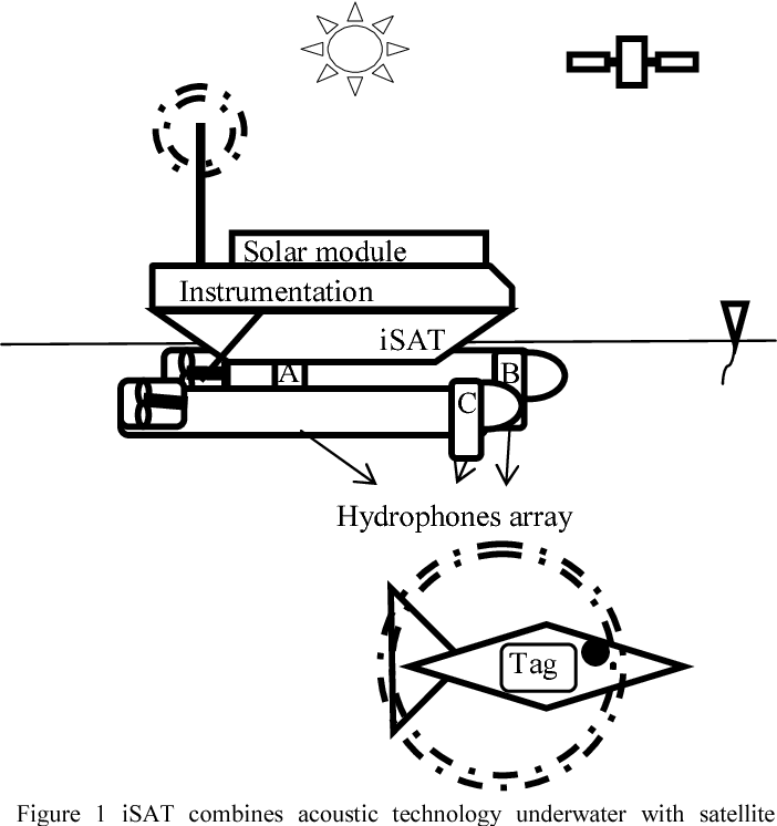 Figure 1 From The Integrated Satellite Acoustic Telemetry Isat