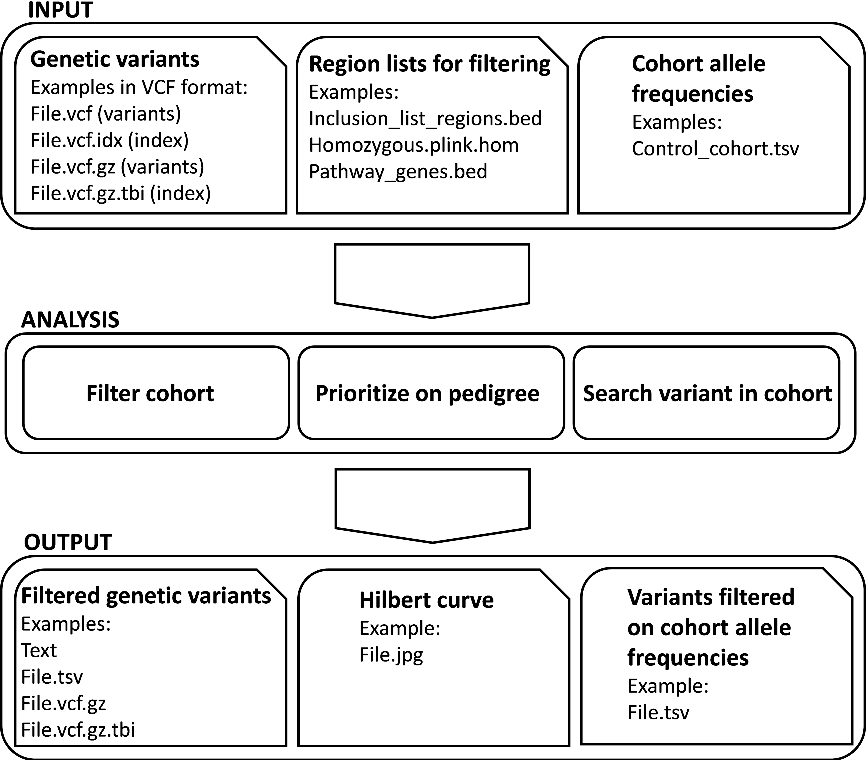 Figure 1 from VCF Filter: interactive prioritization of disease