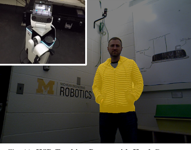 Figure 3 for Video Object Segmentation-based Visual Servo Control and Object Depth Estimation on a Mobile Robot Platform