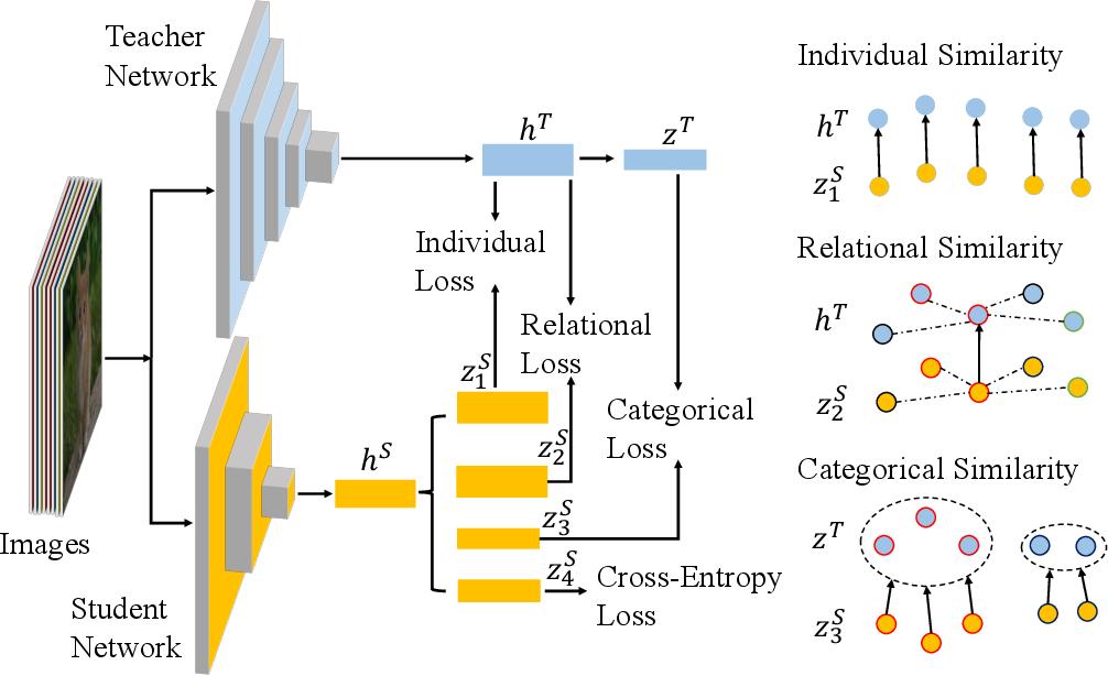 Figure 1 for Multi-level Knowledge Distillation