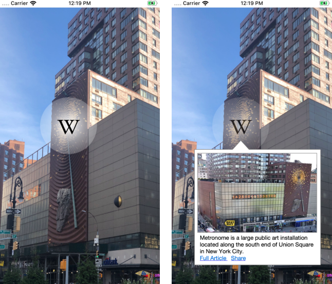 Figure 3 for Mobile Recognition of Wikipedia Featured Sites using Deep Learning and Crowd-sourced Imagery