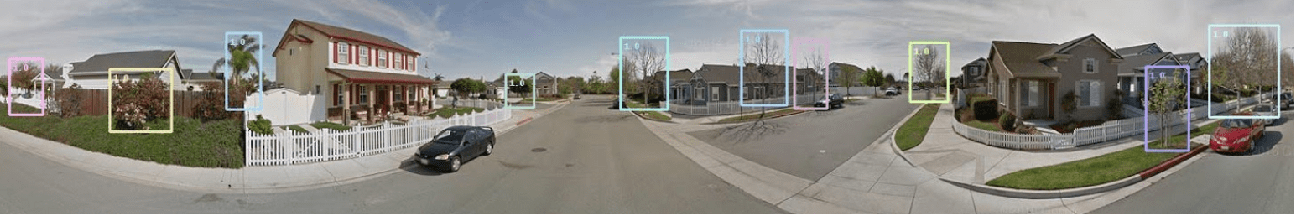 Figure 2 for Geocoding of trees from street addresses and street-level images