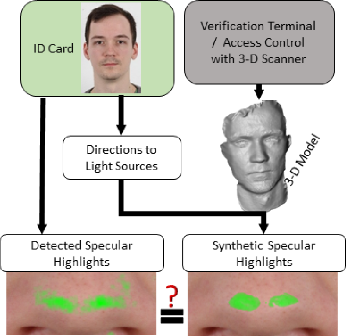 Figure 1 for Reflection Analysis for Face Morphing Attack Detection