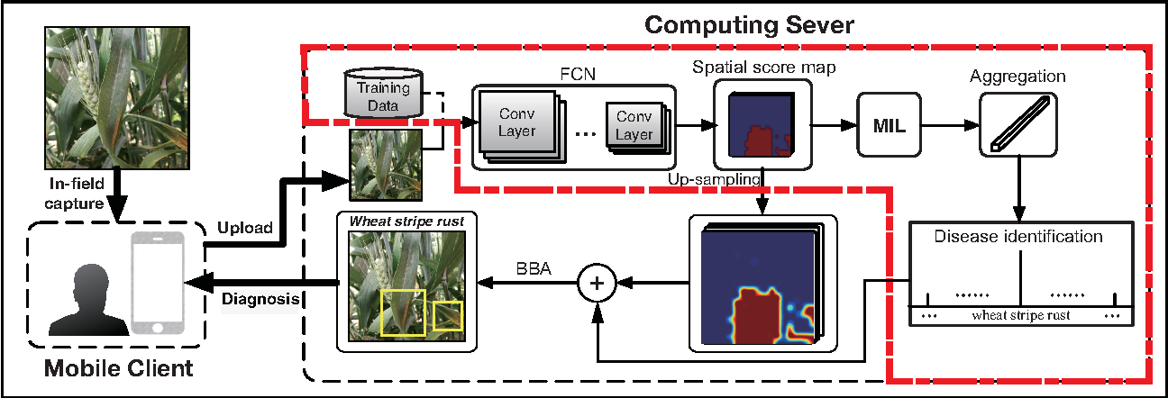 Figure 3 for An In-field Automatic Wheat Disease Diagnosis System
