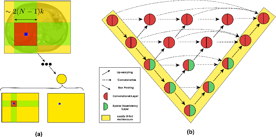 Figure 3 for Spatially Dependent U-Nets: Highly Accurate Architectures for Medical Imaging Segmentation