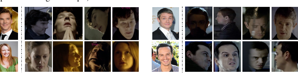 Figure 1 for From Benedict Cumberbatch to Sherlock Holmes: Character Identification in TV series without a Script