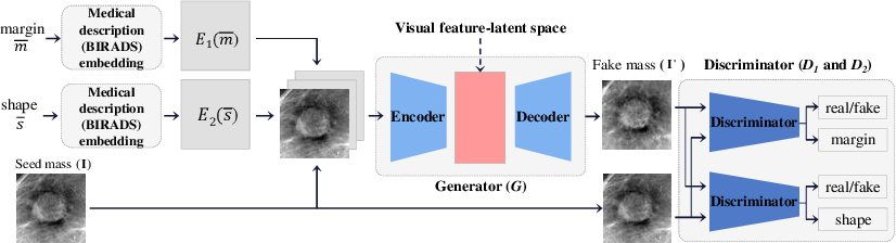 Figure 1 for Feature2Mass: Visual Feature Processing in Latent Space for Realistic Labeled Mass Generation
