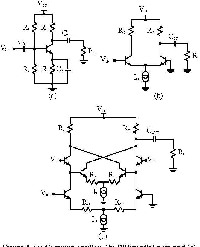 Bipolar Transistor Schematic