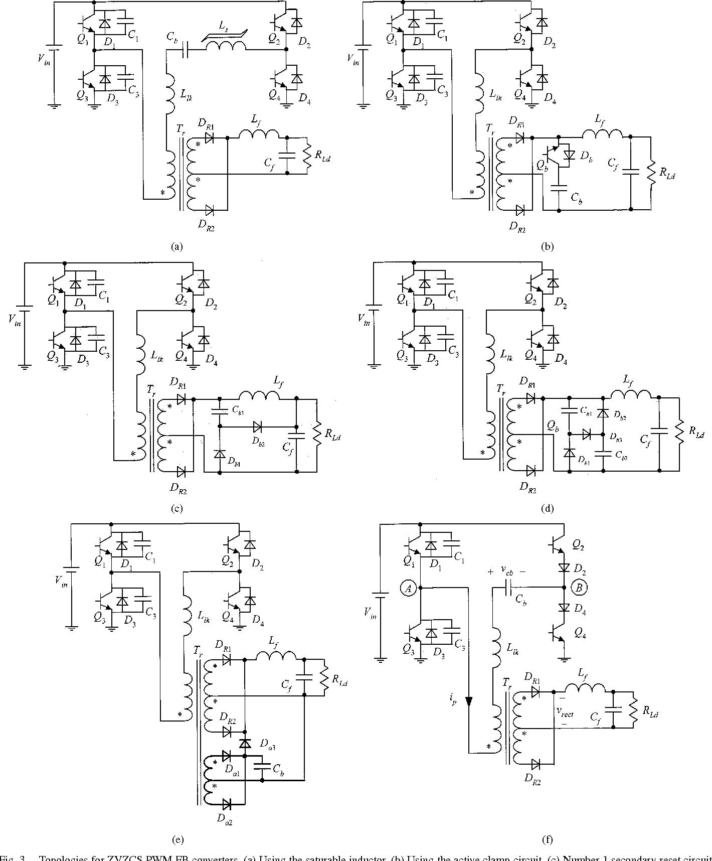 a novel zero voltage and zero current switching pwm full bridge Analog Modulation Circuit figure 3