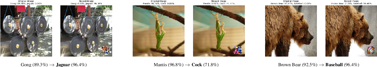 Figure 4 for LaVAN: Localized and Visible Adversarial Noise