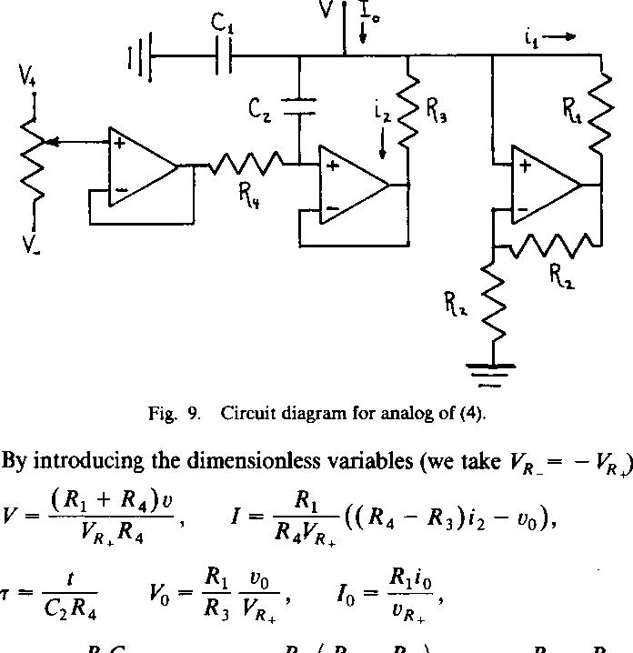 circuit diagram for analog of (4)